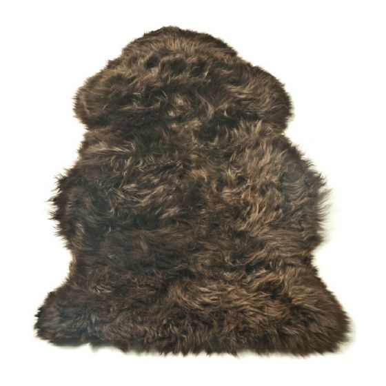 Sheepskin Rug - L & XL - Chocolate Brown